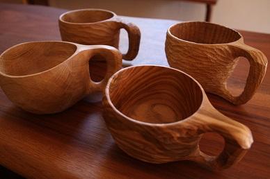 木のマグカップ ワークショップ_d0184405_2249650.jpg