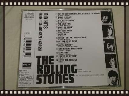 THE ROLLING STONES / big hits [high tide and green grass]_b0042308_18342389.jpg