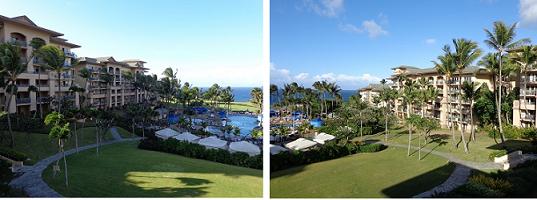 Maui島3日目 念願叶ったホテル_a0279116_05033726.png