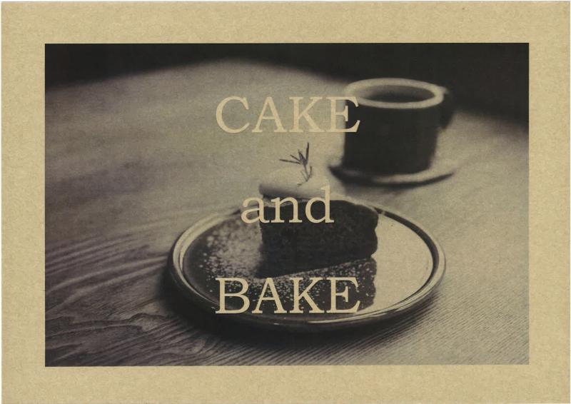 CAKE and BAKE<11/6>_b0363827_18140813.jpg