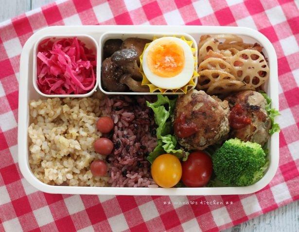 お知らせ ✿ ミニハンバーグ弁to麻婆豆腐♪_c0139375_1210654.jpg