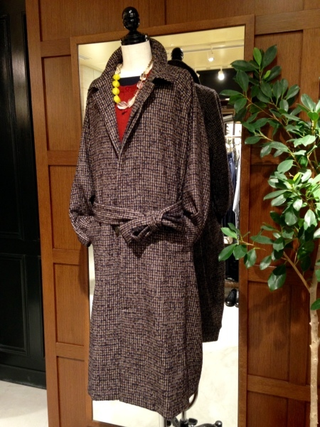 TWEED TRENCH COAT_f0369188_19294476.jpg