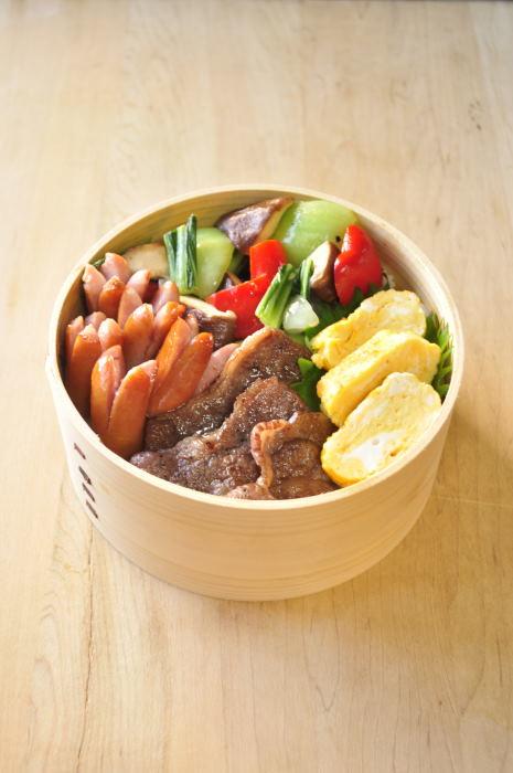野菜炒め弁当_b0171098_8341548.jpg