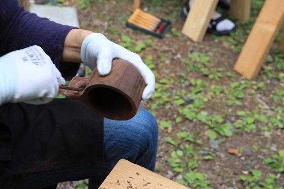 木のマグカップ ワークショップ_d0184405_61620100.jpg