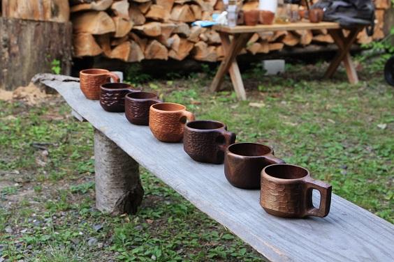 木のマグカップ ワークショップ_d0184405_618248.jpg