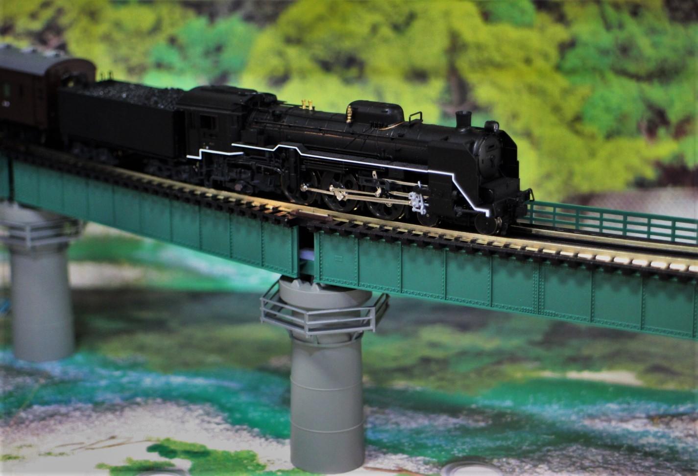 KATO のカーブ鉄橋セットを使い楽しんでみる!_a0149148_10491061.jpg