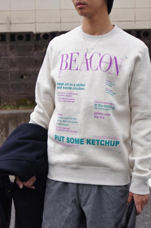 kolor & kolor / BEACON Recommend Itmes!!_c0079892_18401322.jpg