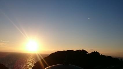 夕陽と富士山@江の島_b0042308_17542571.jpg