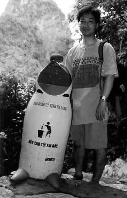 ベトナムのゴミ箱_e0360016_17250498.jpg