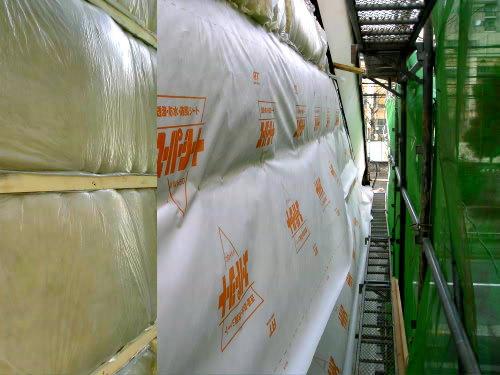京町家の外壁に断熱材を充填する_e0360016_17264635.jpg