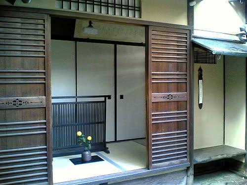 京町家の本玄関_e0360016_17264639.jpg