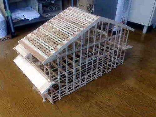 京町家模型 3台目!_e0360016_17265373.jpg
