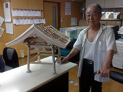 鐘楼模型 ♪_e0360016_17265478.jpg