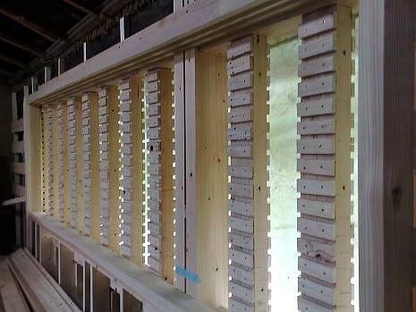 虫籠窓の施工                 |(株)アラキ工務店_e0360016_17274987.jpg