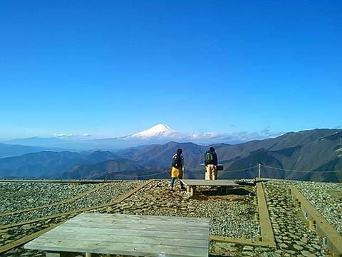 丹沢の富士山_e0360016_17305437.jpg