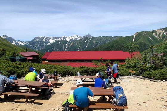 大天井岳と常念岳_e0360016_17312258.jpg