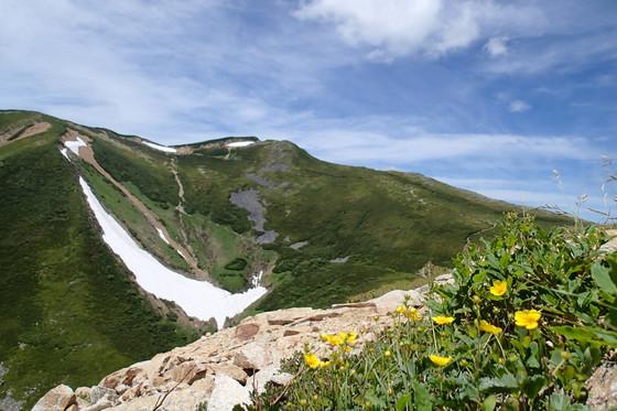 大天井岳と常念岳_e0360016_17312338.jpg