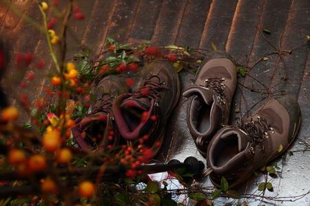 秋、11月の装花 紅葉と実ものの階段装花 ザ・ハウス白金様へ_a0042928_21562656.jpg