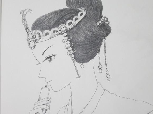150草壁皇子を偲ぶ阿閇皇女の歌_a0237545_15274067.jpg