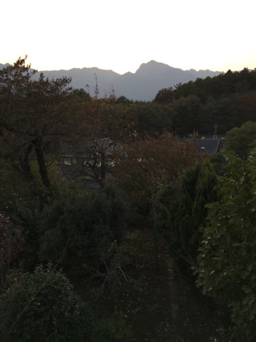 11月6日 甲斐駒ヶ岳  夕日_d0338282_16365699.jpg