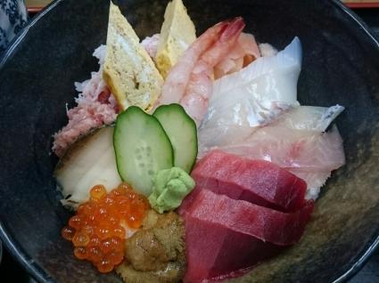 11/6夜勤明け  市場寿司たか  特豪海丼¥1,500@八王子卸売りセンター_b0042308_15245097.jpg