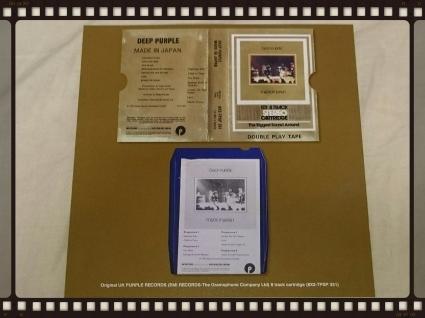 DEEP PURPLE / MADE IN JAPAN UK 8 TRACK STEREO CARTRIDGE _b0042308_23540174.jpg