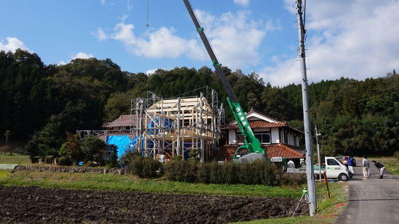 北広島町K様邸上棟しました。_b0131012_1751343.jpg