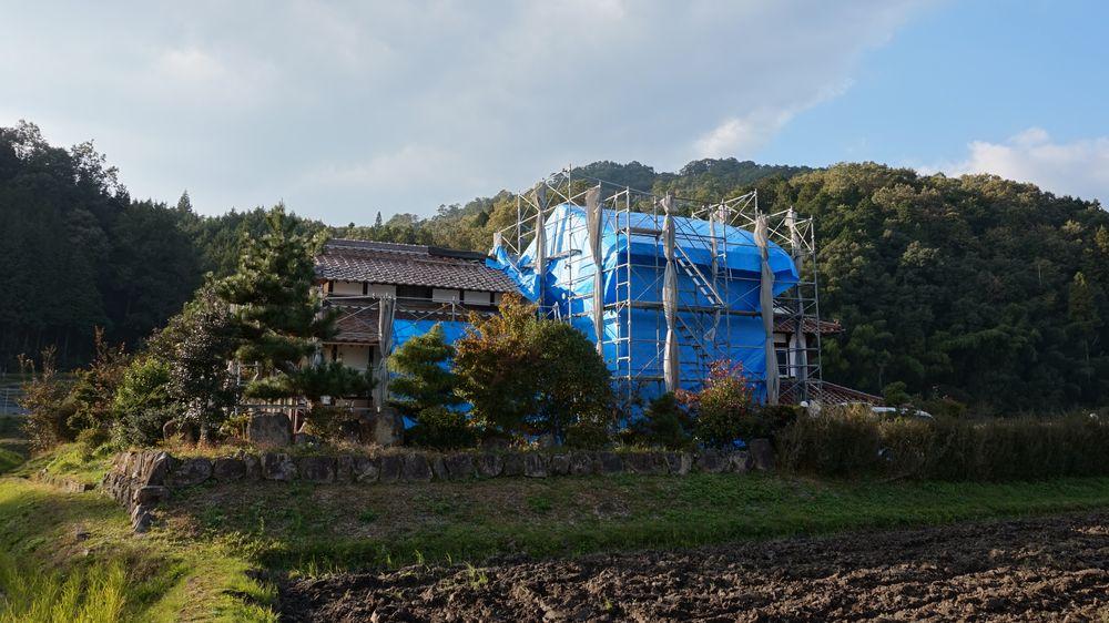 北広島町K様邸上棟しました。_b0131012_18294384.jpg