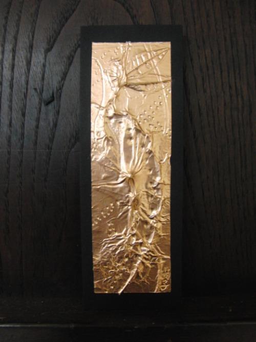 レリーフ ~ 落ち葉の銅箔レリーフ ~_e0222340_18553571.jpg