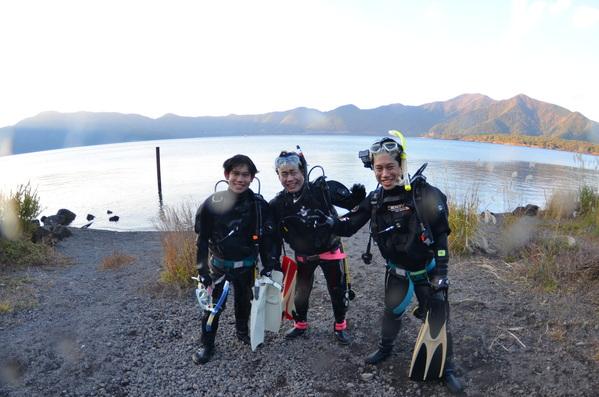富士五湖~楽しい本栖湖ダイビング!_a0226058_1519237.jpg