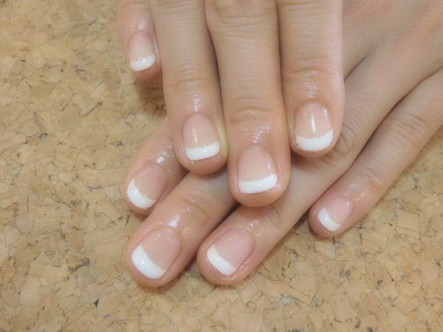 White French Nail_a0239065_16071073.jpg