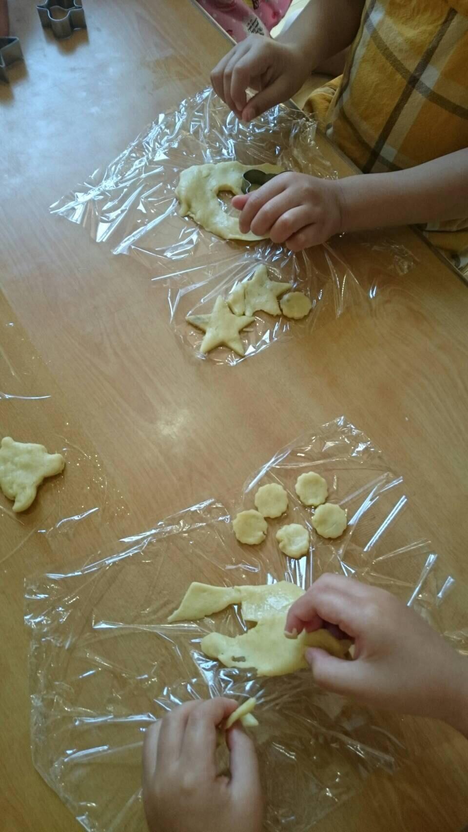 4歳児 らいおん組   クッキーづくりクッキング_c0151262_21460502.jpg