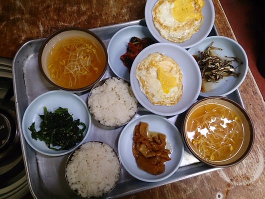 セジンシクタン 350円の朝食編_b0060363_818440.jpg
