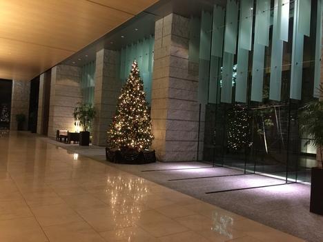 国立演芸場観覧、そしてクリスマスツリー_d0054704_21502473.jpg