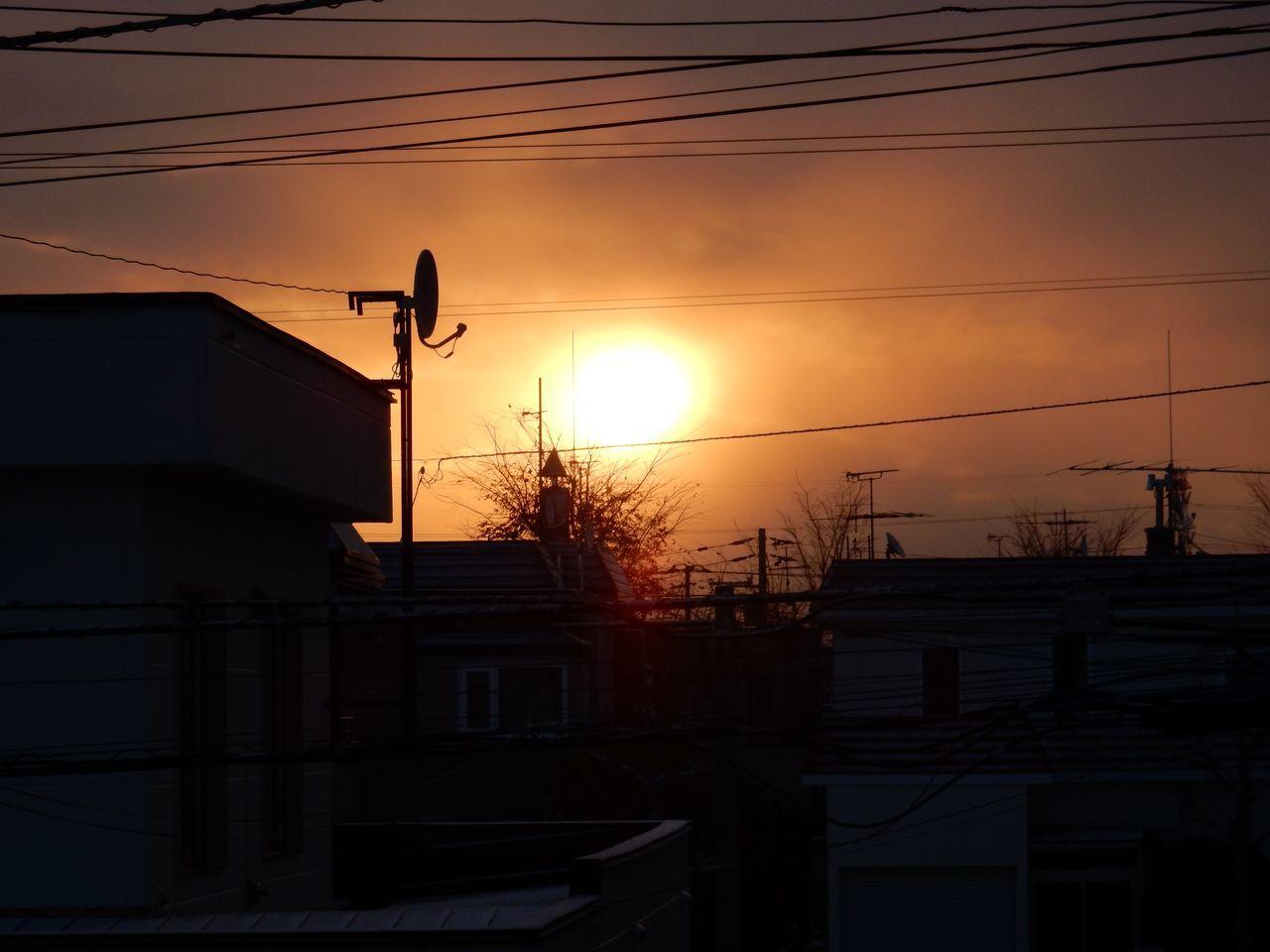 久しぶりに見た朝の太陽_c0025115_20180549.jpg