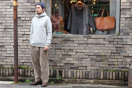 "Jackman ""Award Jacket & GG Sweat Parka\"" ご紹介_f0191324_10432044.jpg"