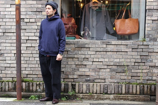 "Jackman ""Award Jacket & GG Sweat Parka\"" ご紹介_f0191324_10440100.jpg"