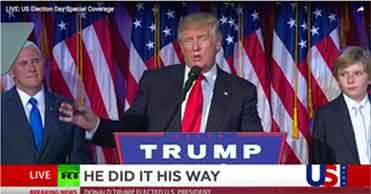 ヒラリー陣営:ロスタイ作戦に移行 / AP、FOX「トランプ勝利」_b0003330_1771345.jpg