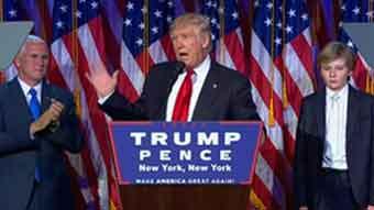 ヒラリー陣営:ロスタイ作戦に移行 / AP、FOX「トランプ勝利」_b0003330_1804739.jpg