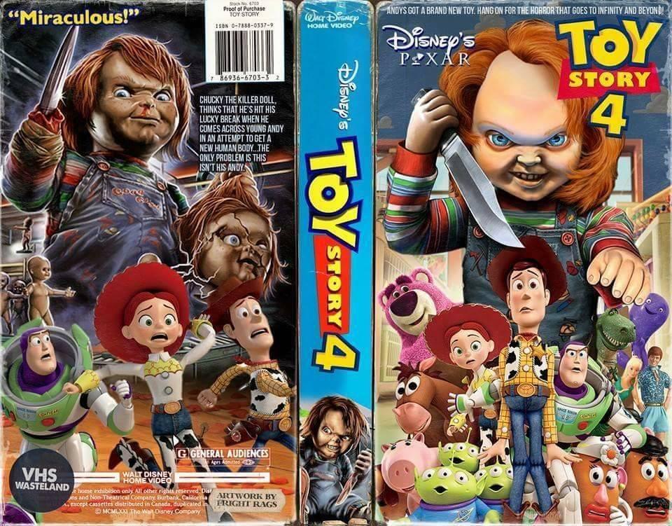 Toy Story 4 Chucky : トイ・ストーリー 帰ってきた、モンクアル?