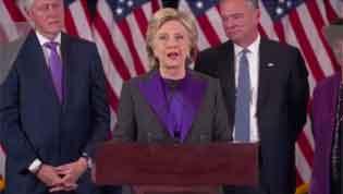 ヒラリーさん 敗北宣言 / 『紫色』の示す『意味』は?_b0003330_12414196.jpg