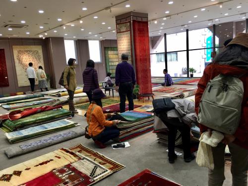 「ギャッベ展in姫路」が姫路市民会館で始まりました❣️_a0071934_17564038.jpg