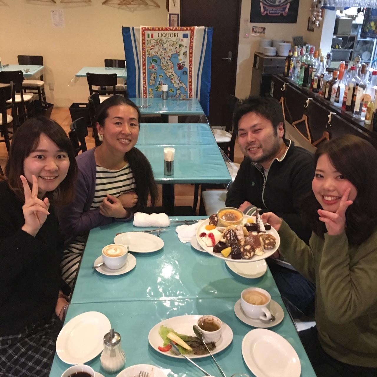 スタッフ食事会♪_e0339146_14400650.jpg