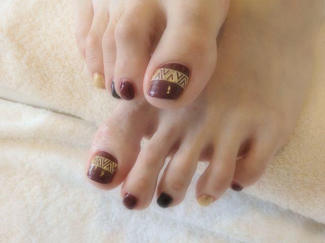 Red Foot Nail_a0239065_17172932.jpg