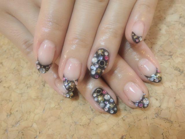 Black Stone Nail_a0239065_17173134.jpg