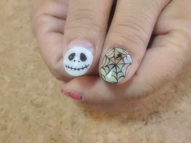 Halloween Nail_a0239065_19024609.jpg