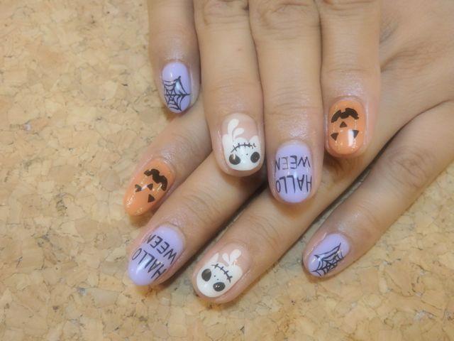 Halloween Nail_a0239065_19111103.jpg