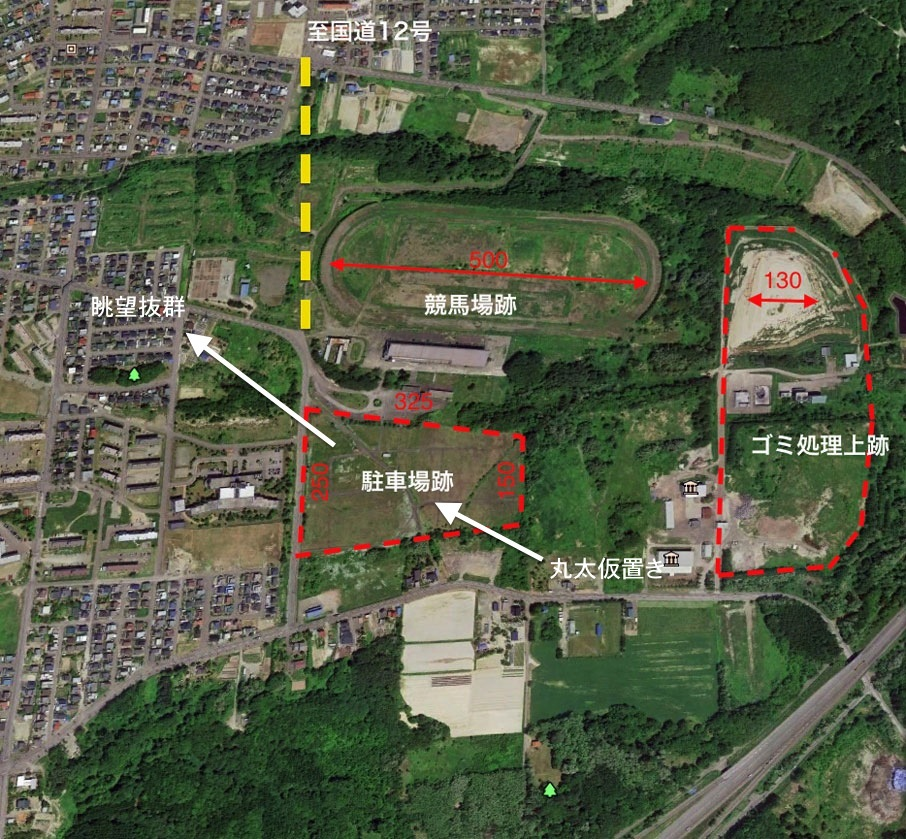 川俣正岩見沢プロジェクト2016/奈良大安寺の丸太・2_c0189970_09444177.jpg