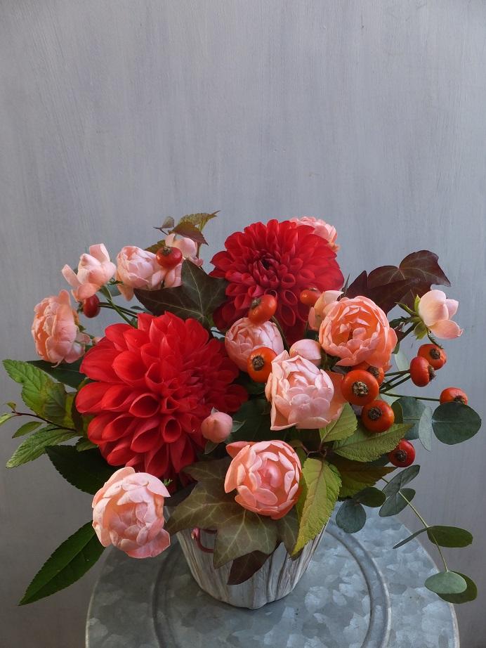 オークリーフ(赤っぽい花)_f0049672_14322827.jpg