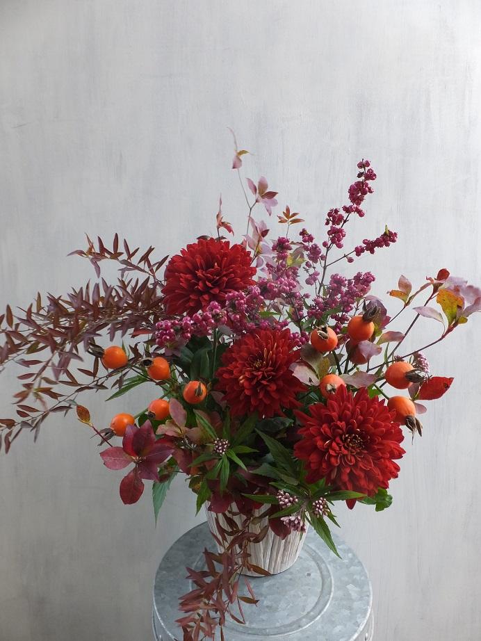 オークリーフ(赤っぽい花)_f0049672_14445316.jpg